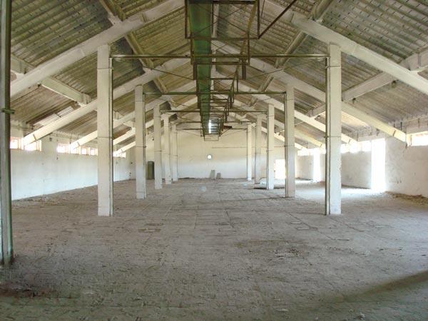 Interior hala-depozit